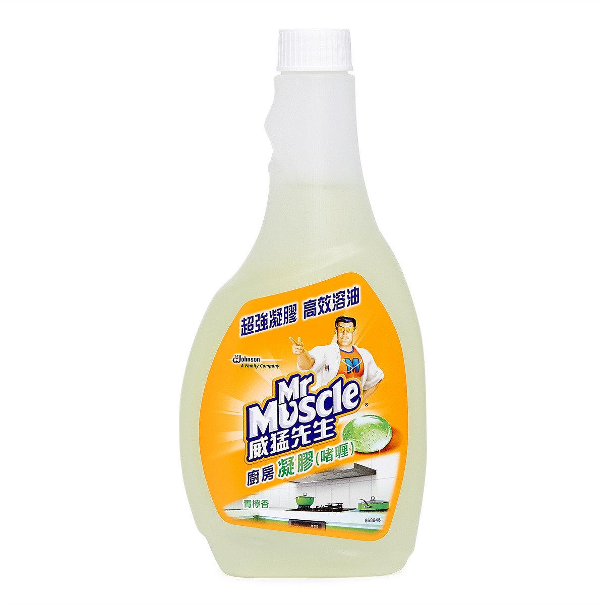 廚房凝膠啫喱 - 青檸味 (補充裝)