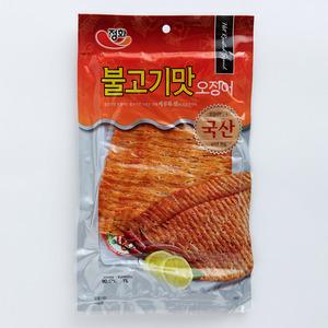 Jeong Hwa - 韓國烤魷魚片 - 辛辣味 (附辣椒醬)