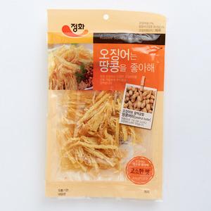 Jeong Hwa - 韓國烤魷魚絲 - 花生醬味