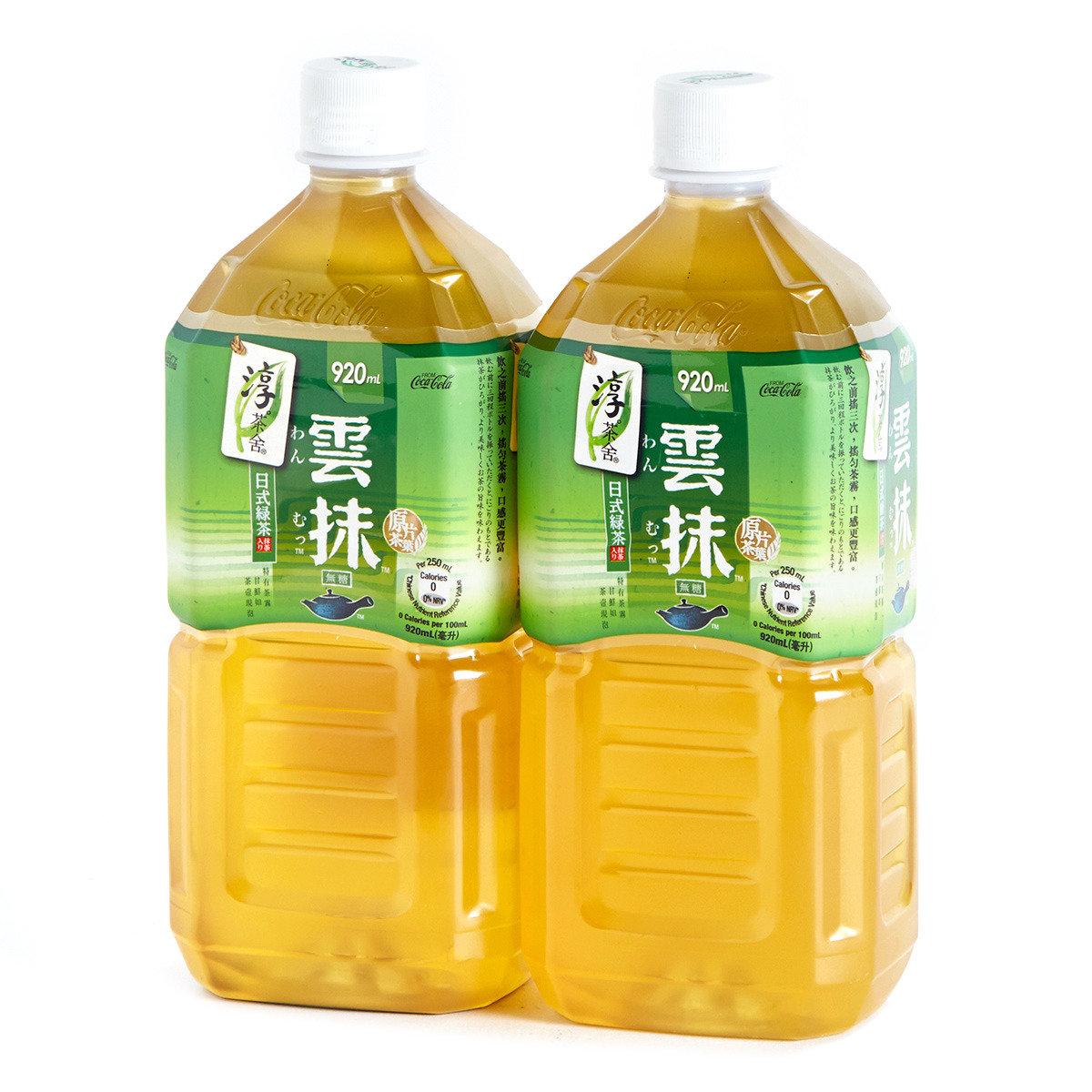 雲抹日式綠茶飲料膠樽裝