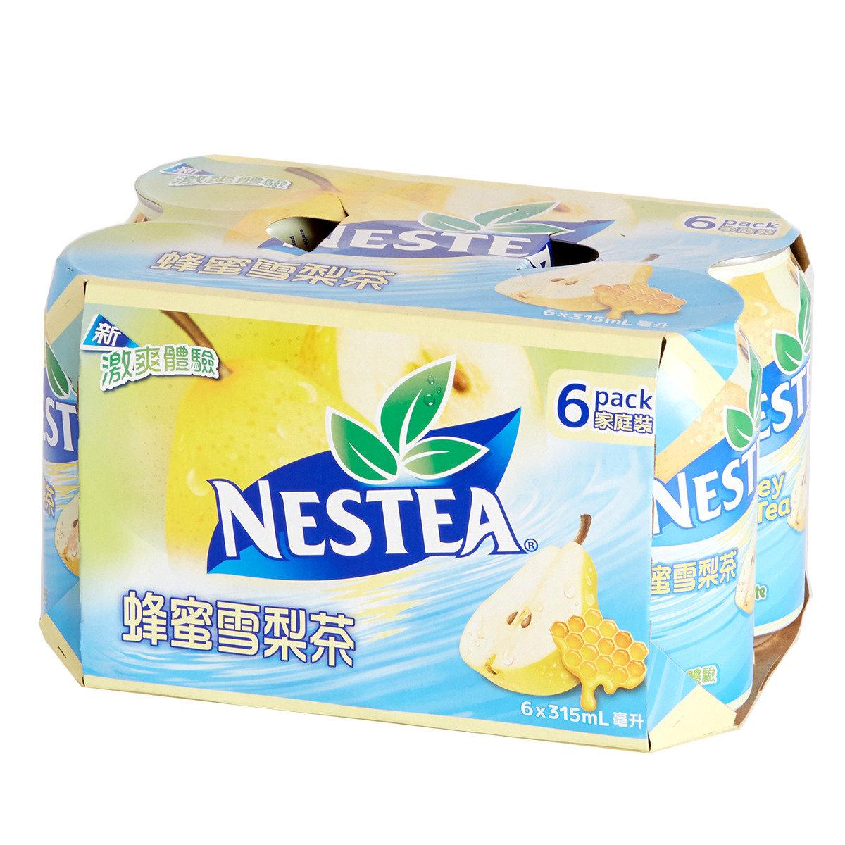 蜂蜜雪梨茶罐裝
