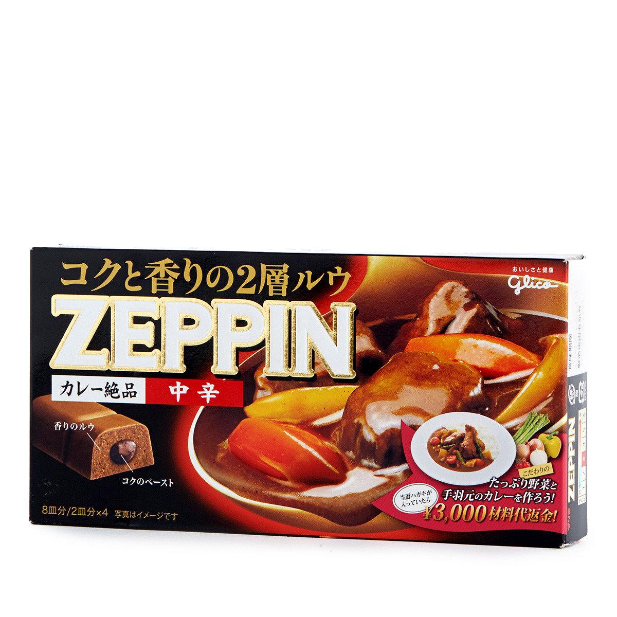 ZEPPIN燒汁夾心咖喱磚 - 中辣