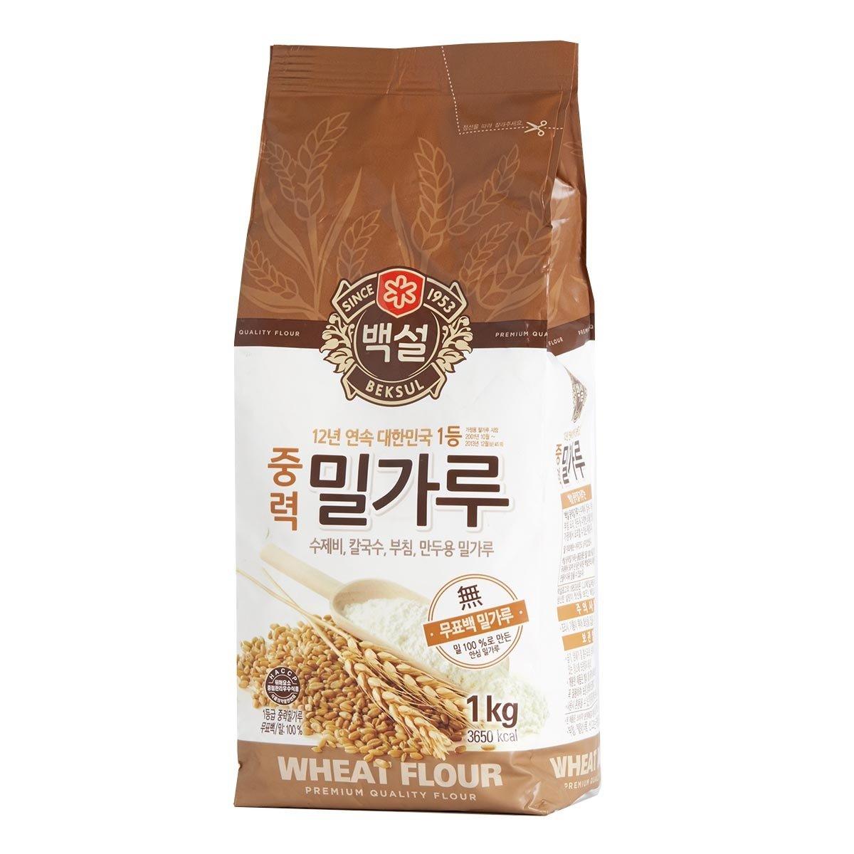優質小麥粉末 - 中筋 (麵條及餃子麵粉)