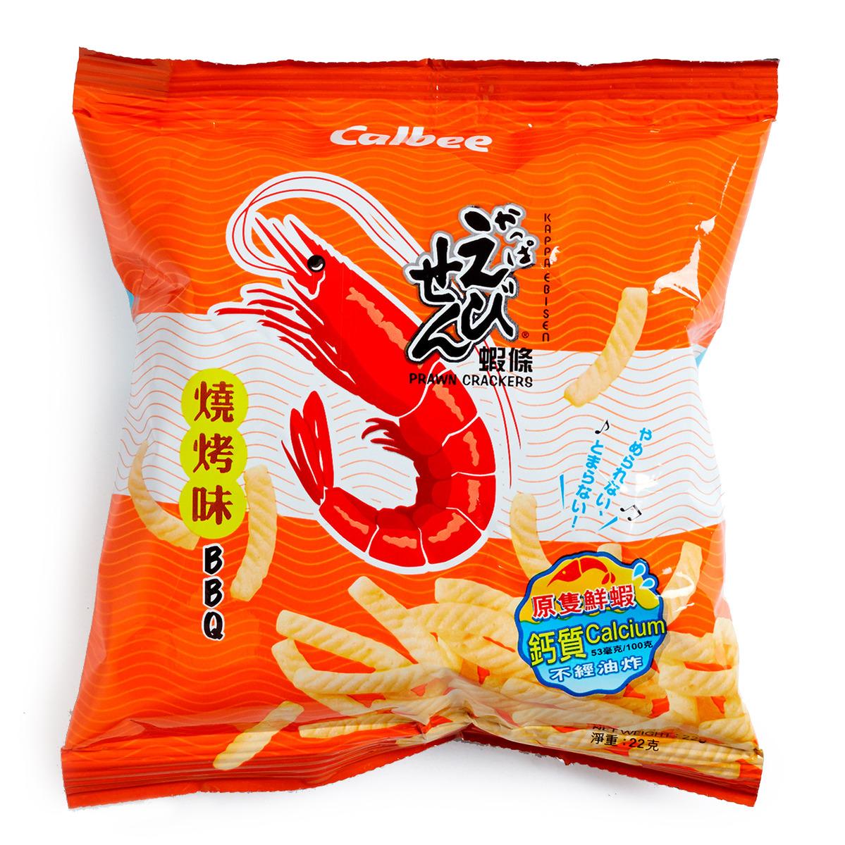 燒烤味蝦條