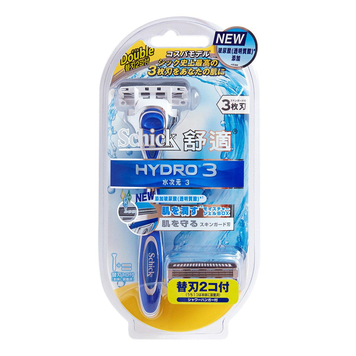 Hydro3 剃鬚刀連二刀片