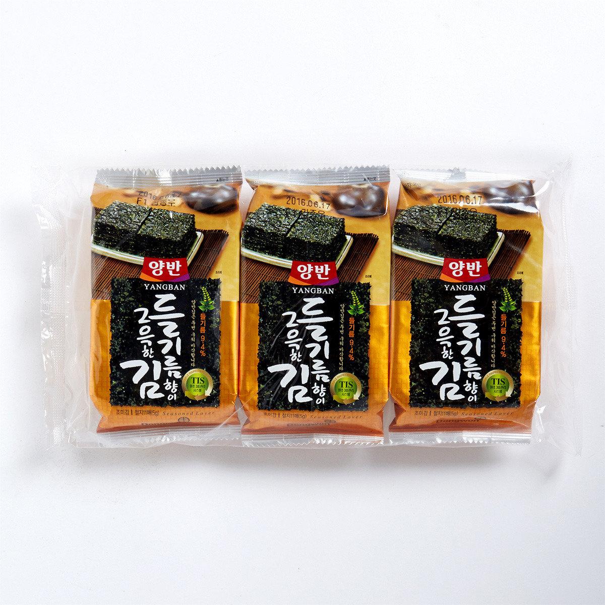 天然鹽燒海苔(紫蘇油)