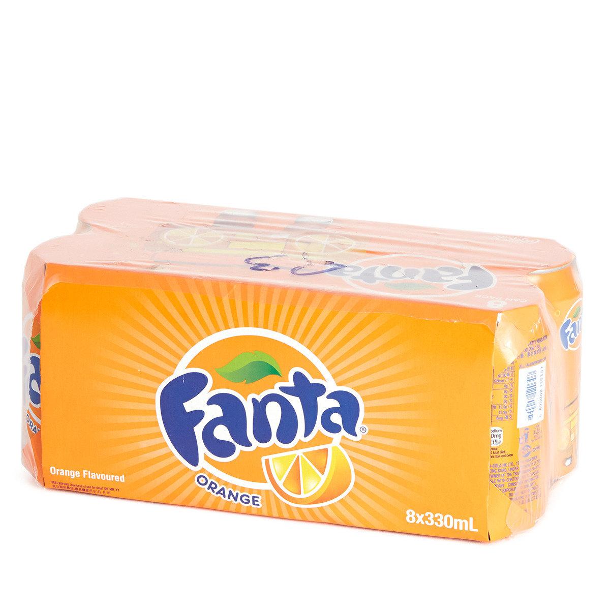 罐裝橙味汽水