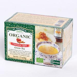 聖桃園 - 有機綠茶系列 - 玉桂蘋果綠茶