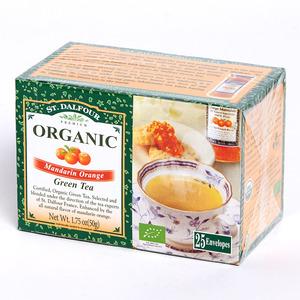 聖桃園 - 有機綠茶系列 - 柳橙綠茶