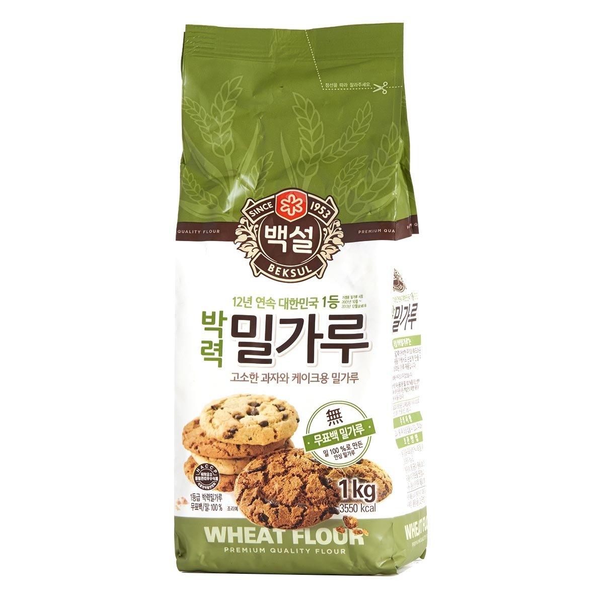 優質小麥粉末 - 低筋 (蛋糕及曲奇麵粉)