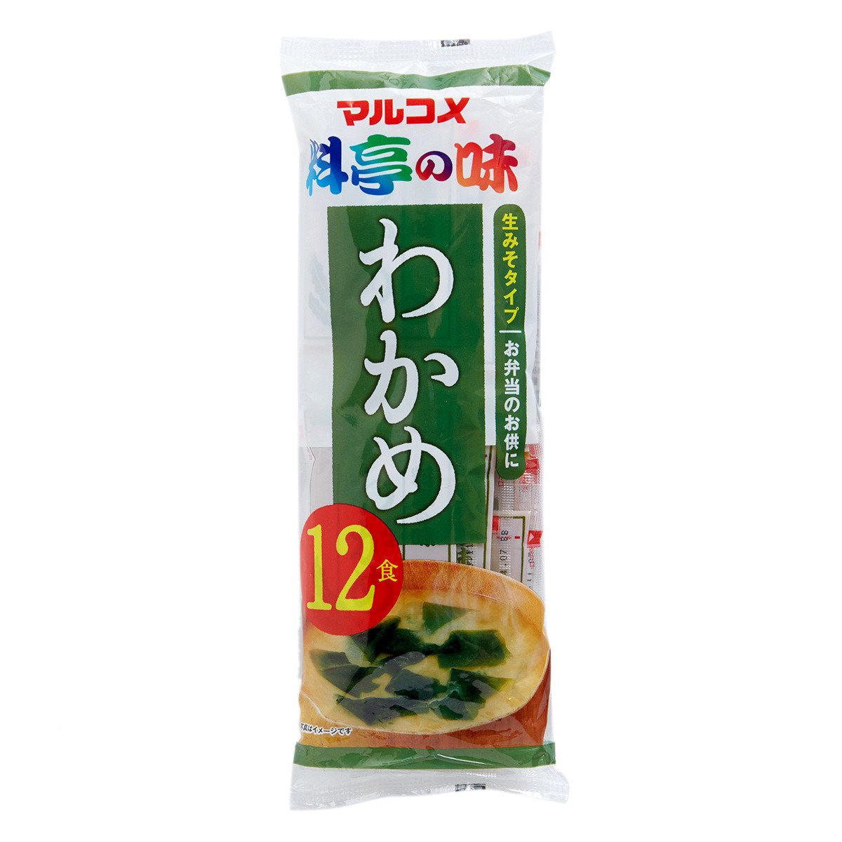 全新海帶即食麵豉湯(12食)