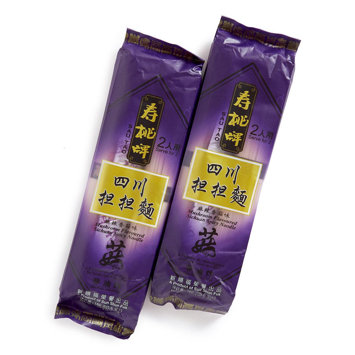 四川擔擔麵面 - 麻辣香菇味