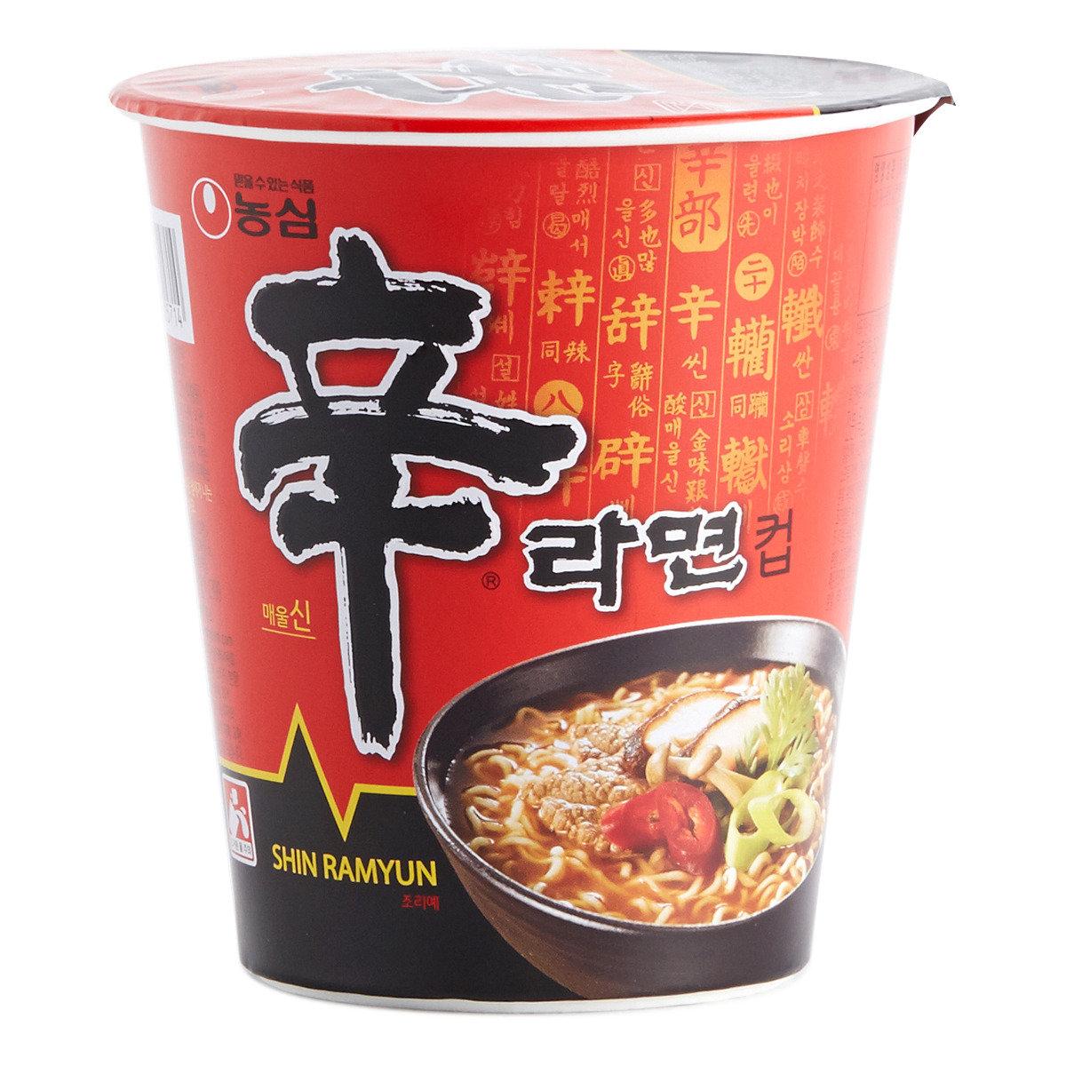 韓國版辛辣杯麵