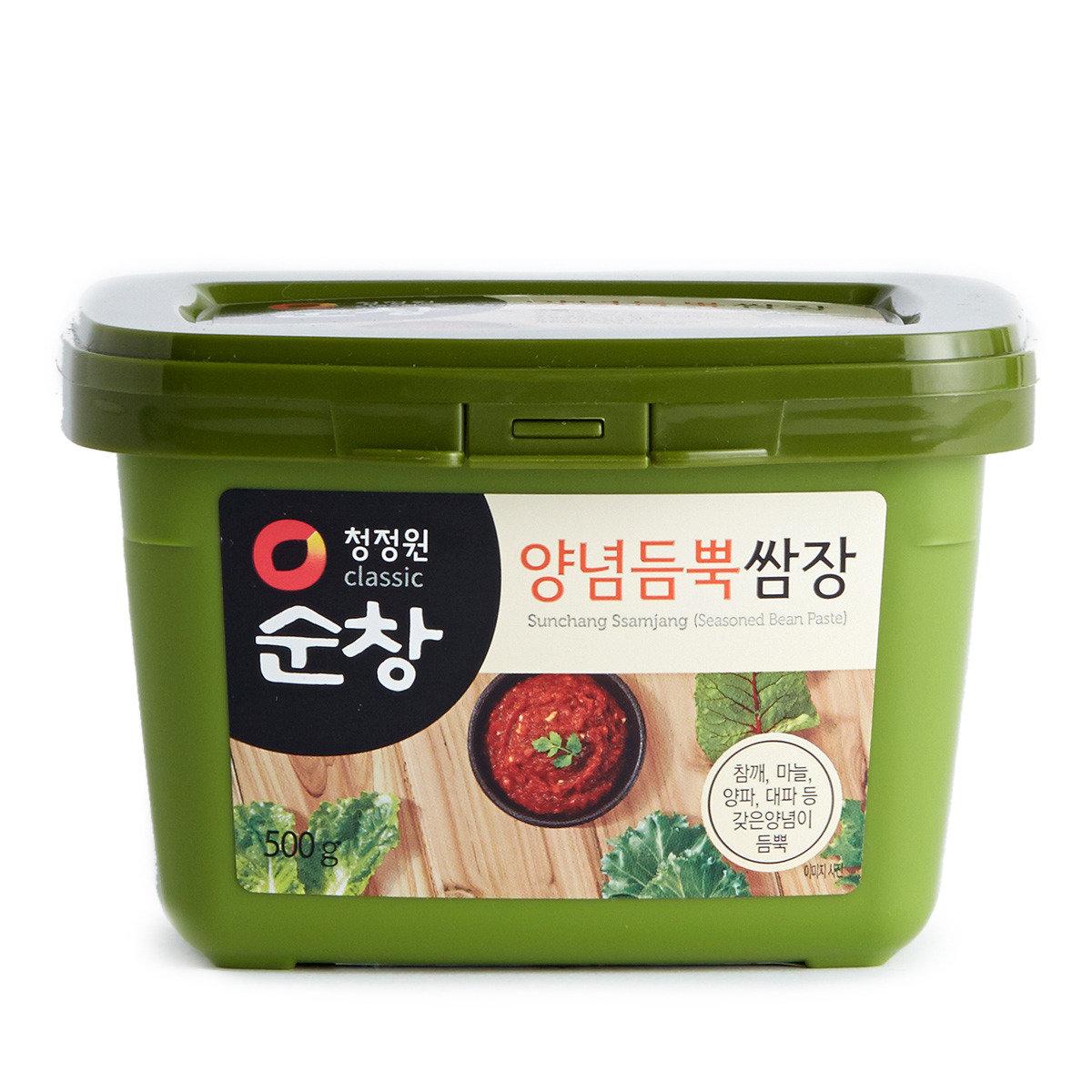 韓國麵豉醬 (已調味)