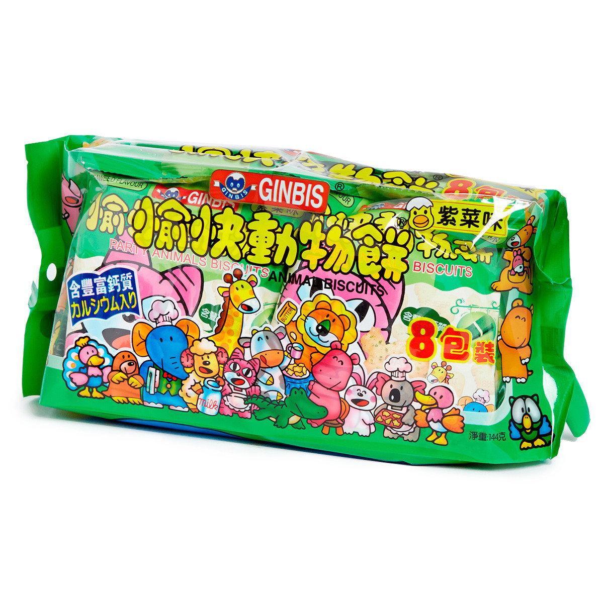 愉快動物餅 - 紫菜味