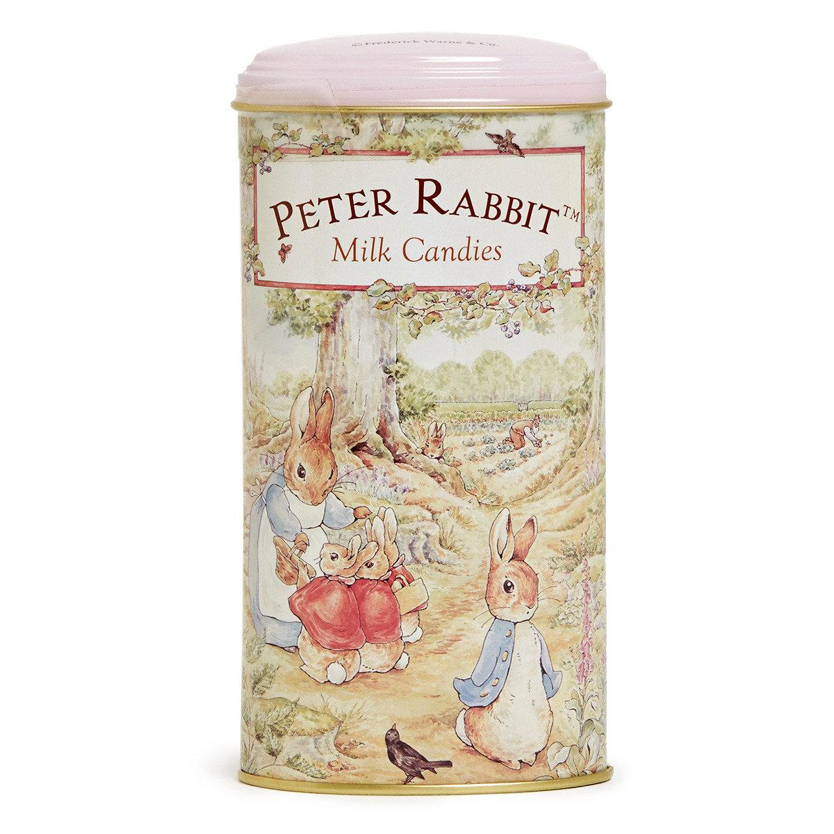比得兔原味牛奶糖高罐裝