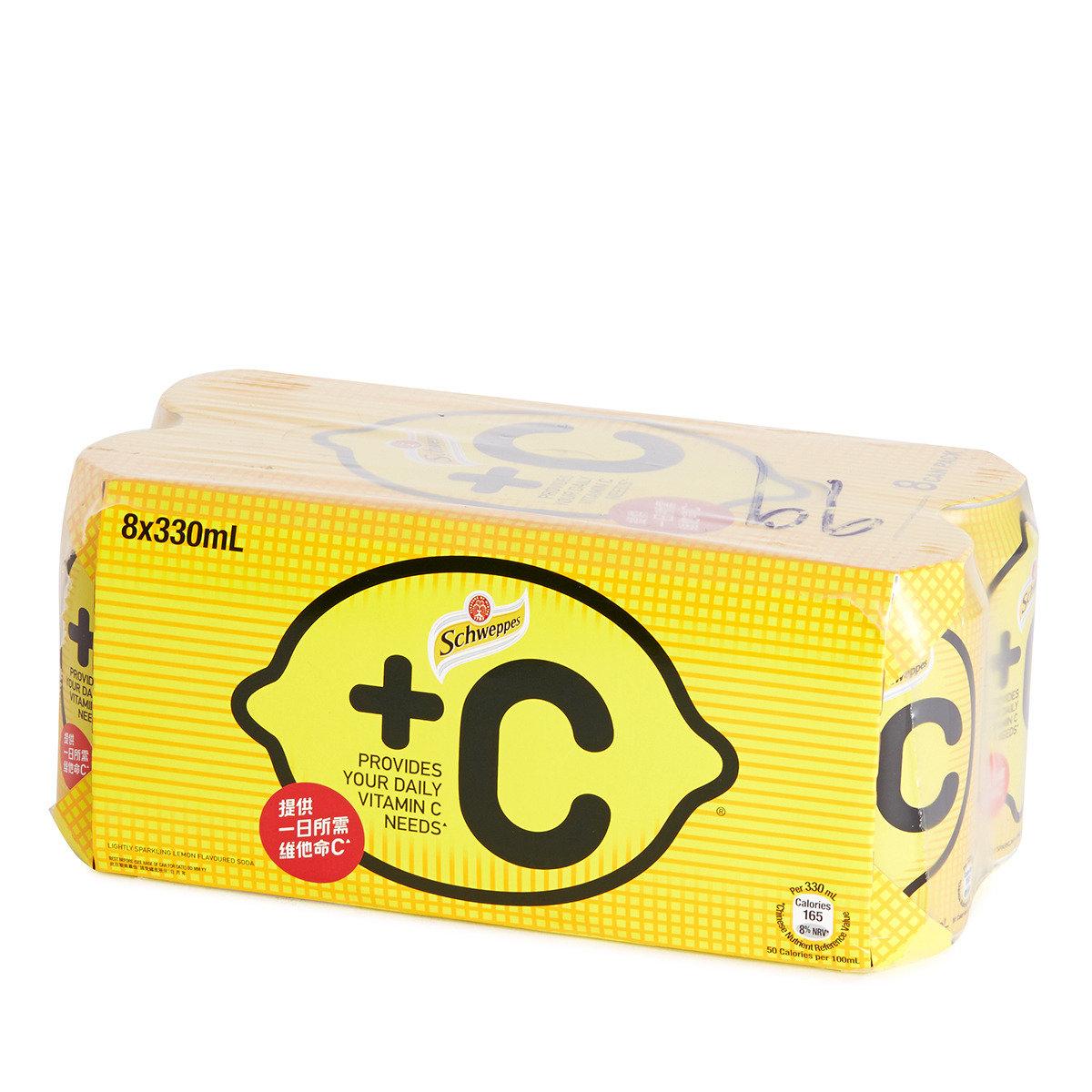 罐裝+C有汽檸檬飲品