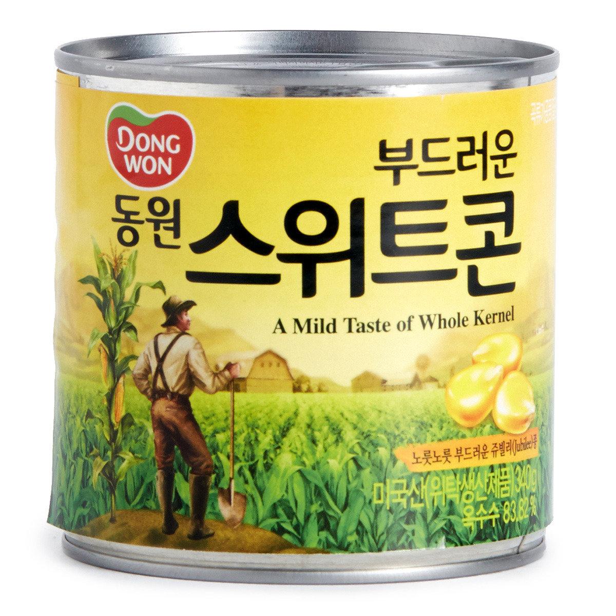 韓國罐裝玉米