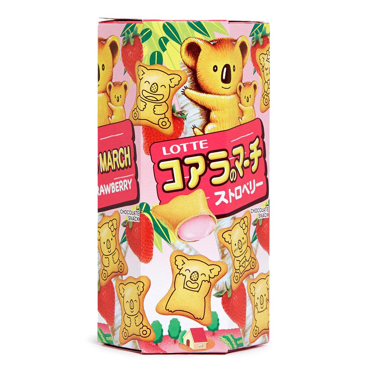熊仔餅 - 草莓味 (細裝)