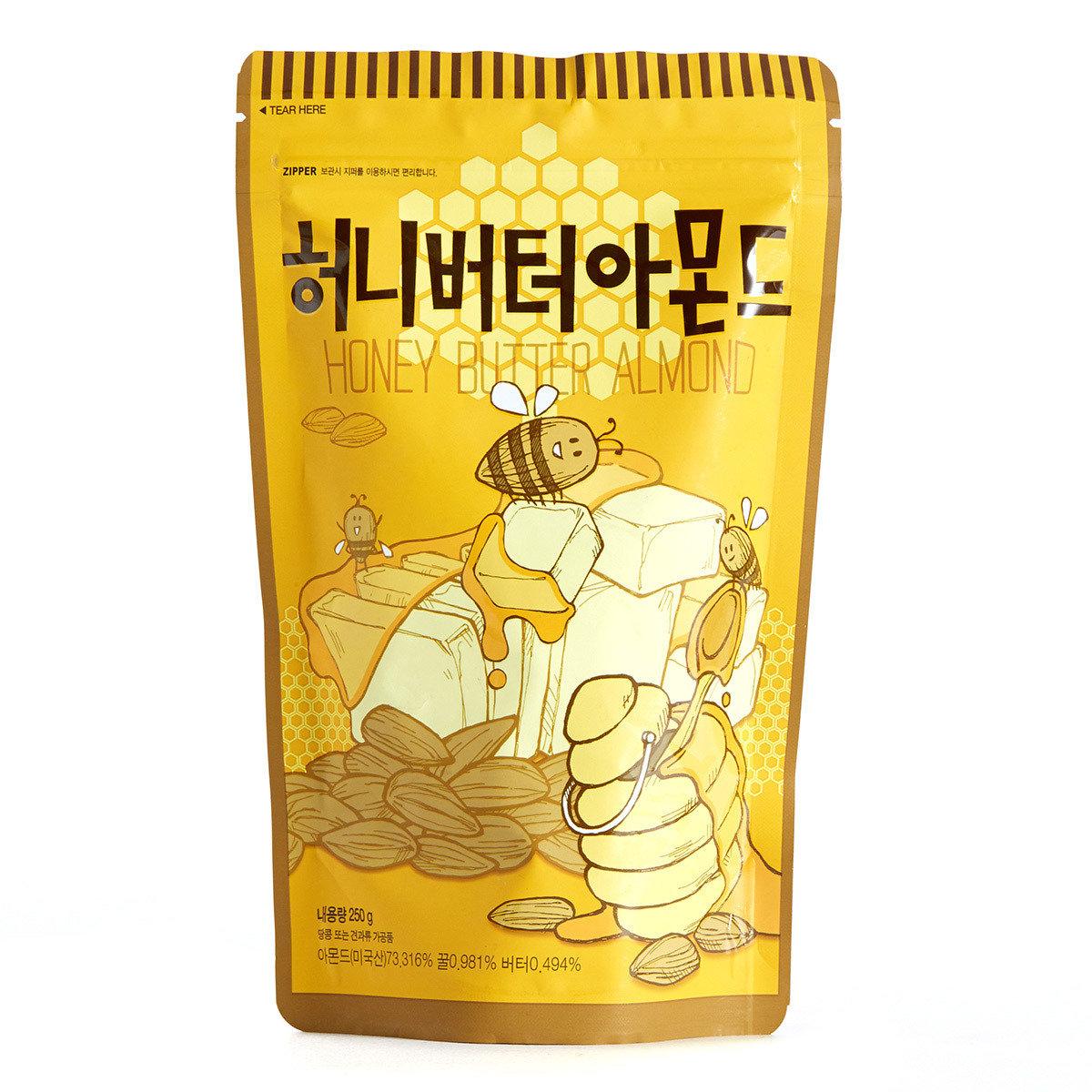 蜂蜜牛油杏仁