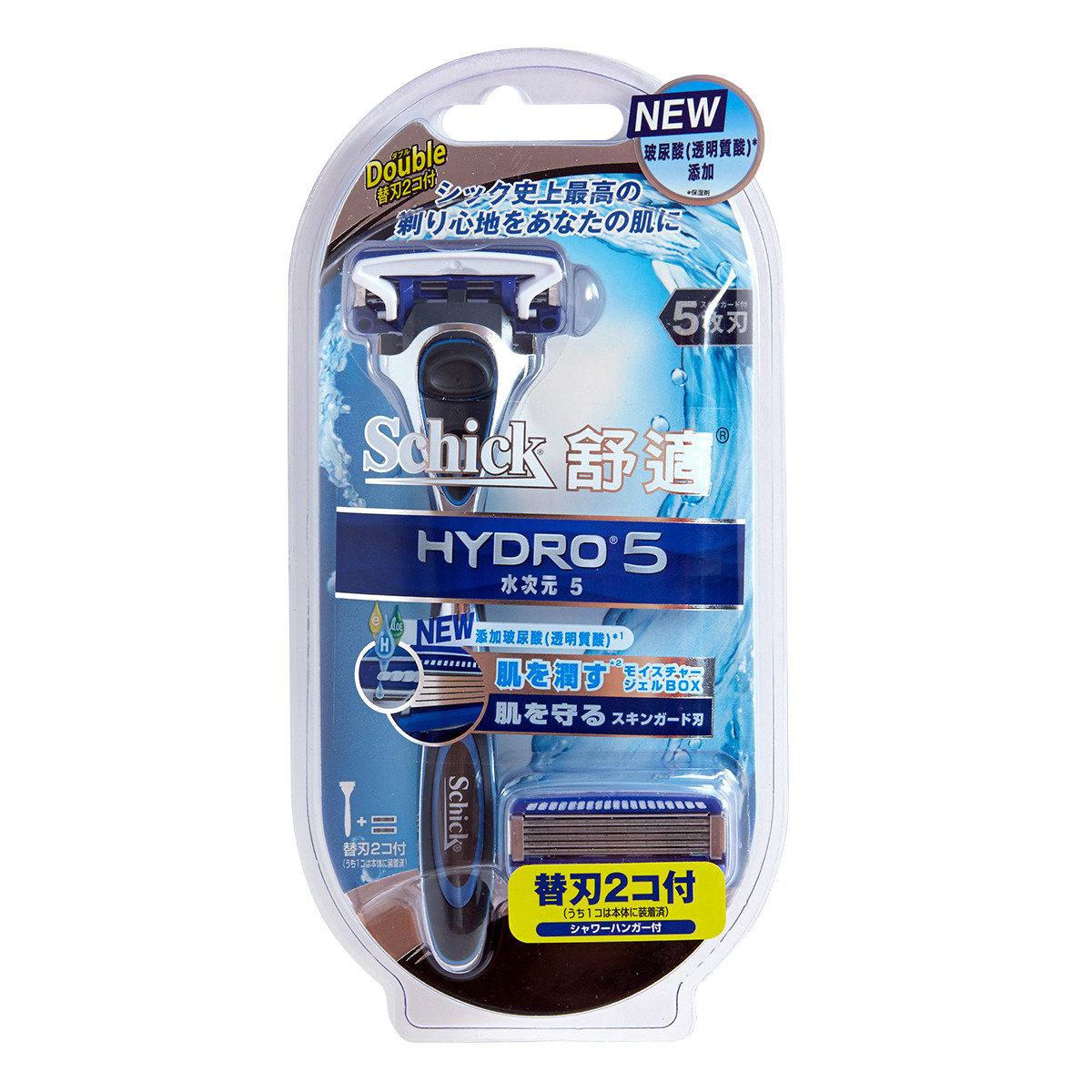Hydro5 剃鬚刀連二刀片