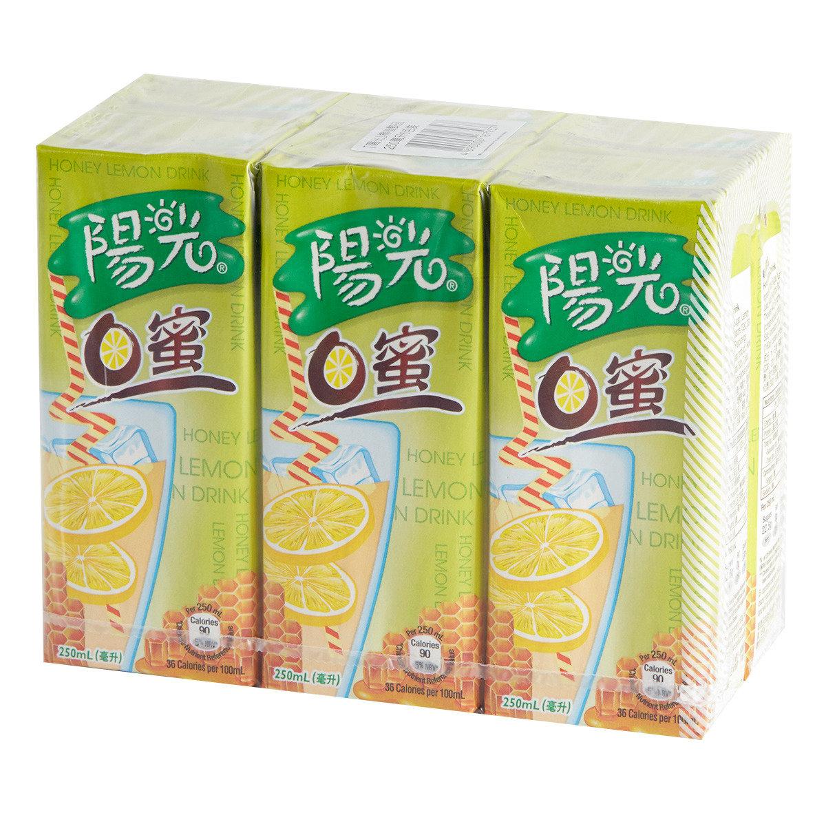 檸蜜飲品紙包裝