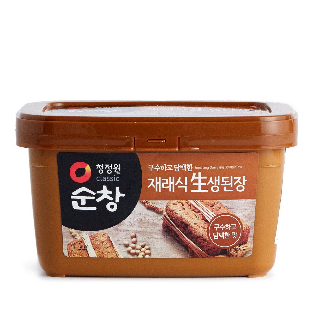 韓國麵豉醬