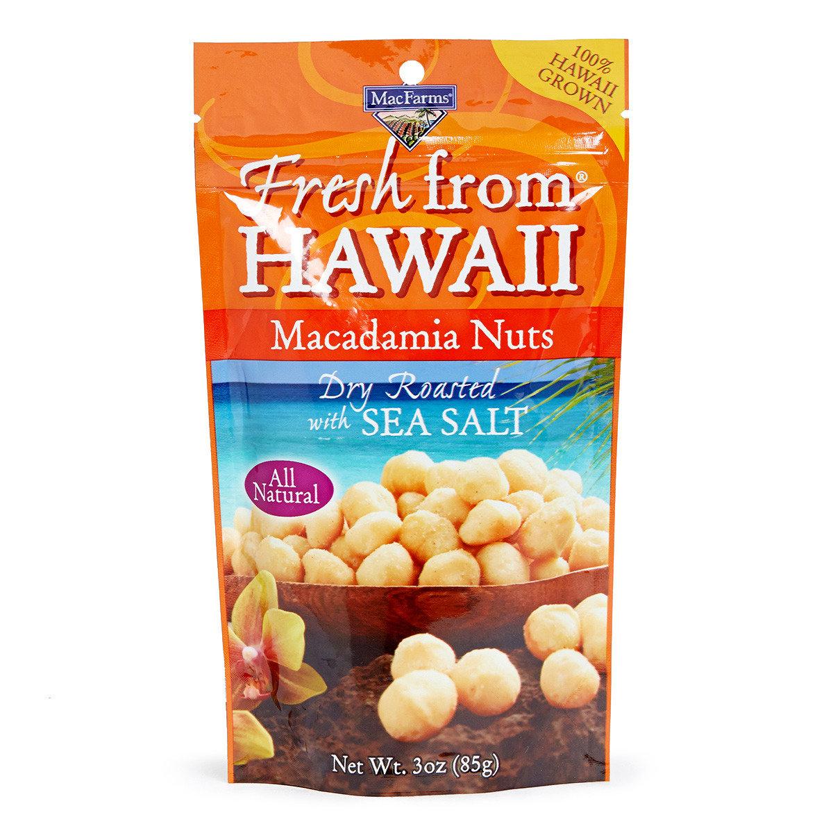 海鹽焗夏威夷果仁