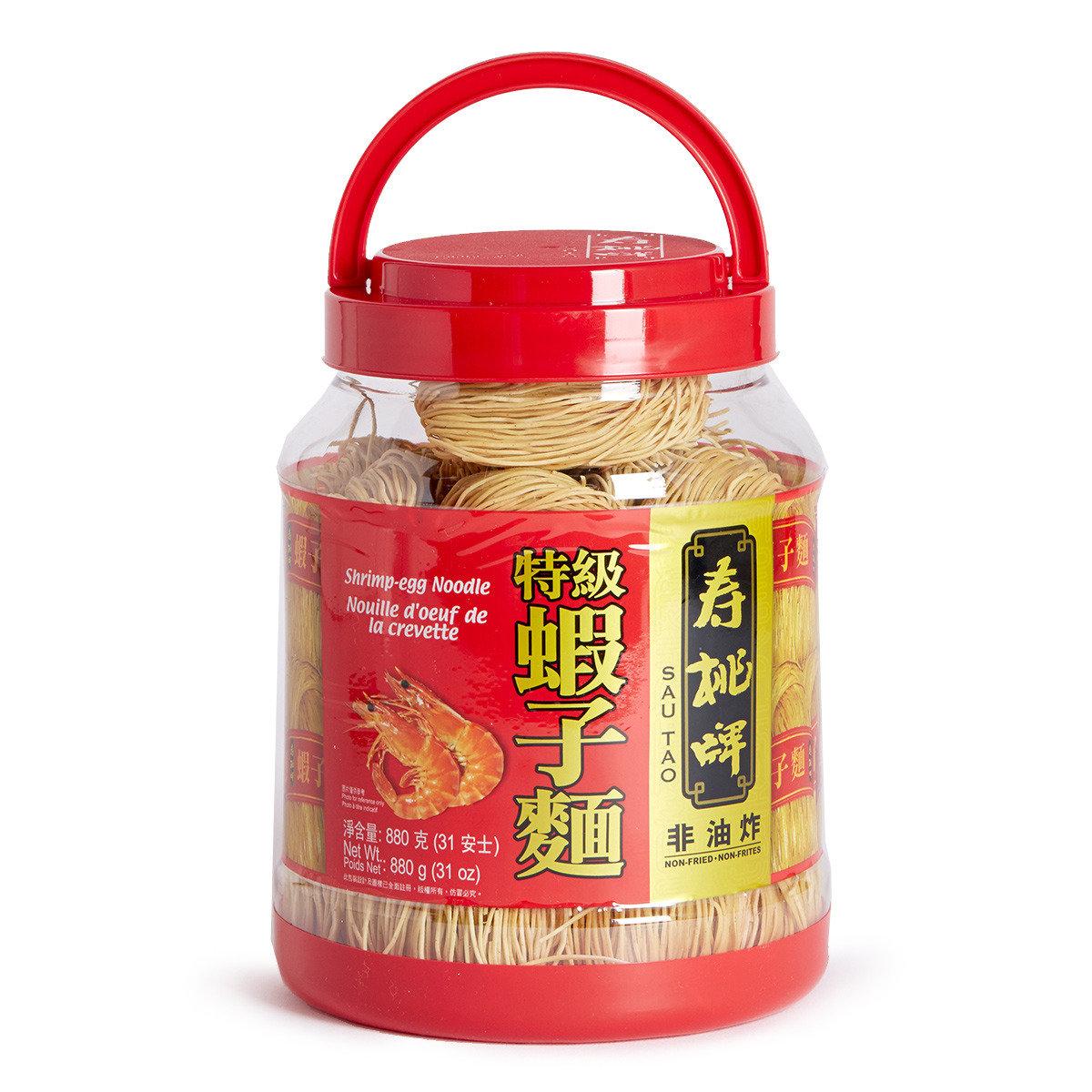 懷舊桶裝特級蝦子麵