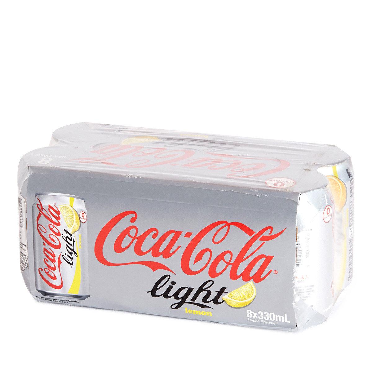 罐裝檸檬健怡可口可樂汽水