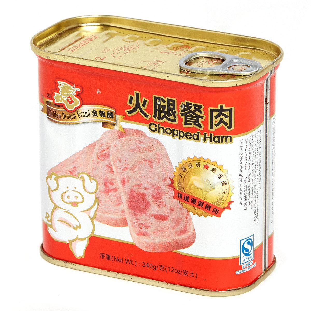 火腿餐肉 (大方罐)