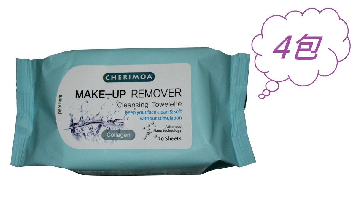 卸妝濕紙巾 - 骨膠原(30片)4包組合