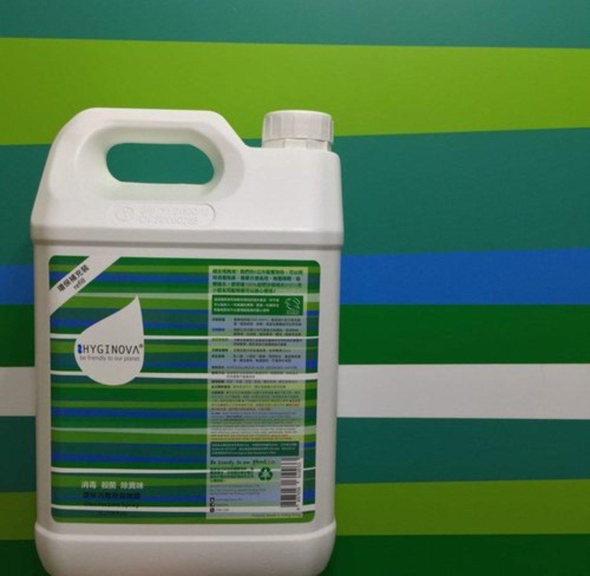 環保消毒除臭噴霧-5公升桶裝
