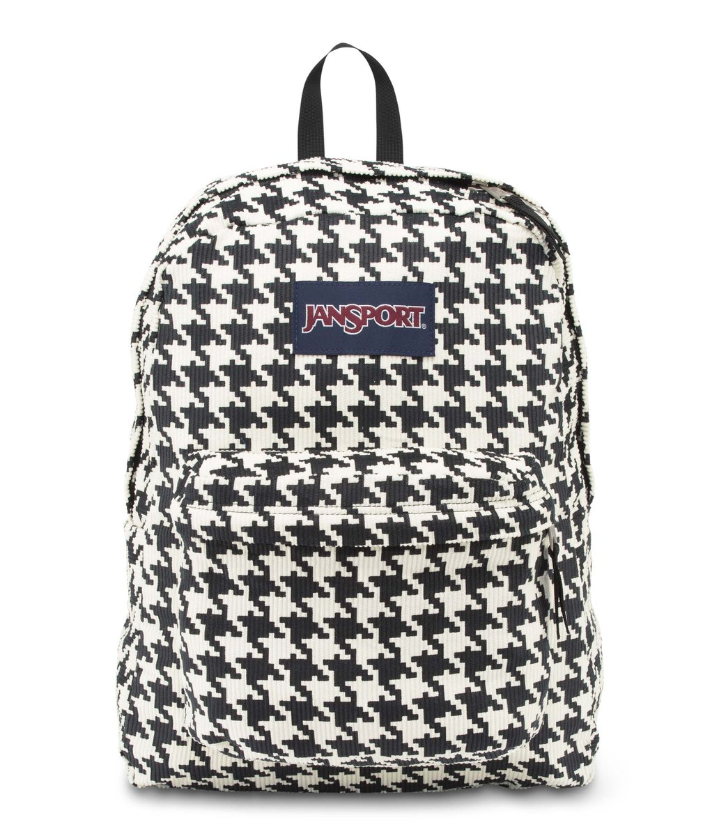 JanSport | JanSport Backpack - High Stakes - WHITE BLACK ...