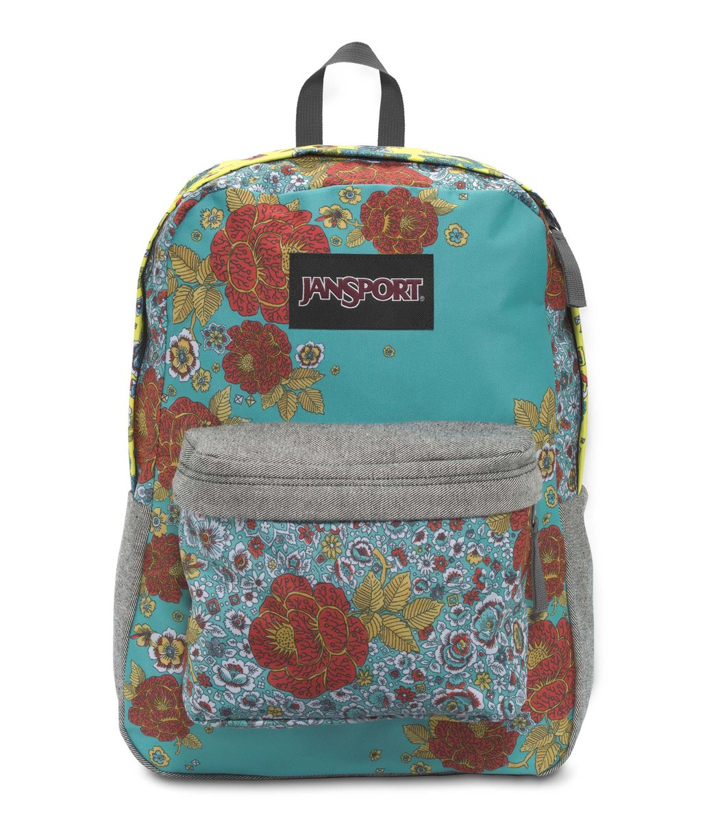 JanSport | JanSport Backpack - Super FX - MULTI PATCHWORK POSEY ...