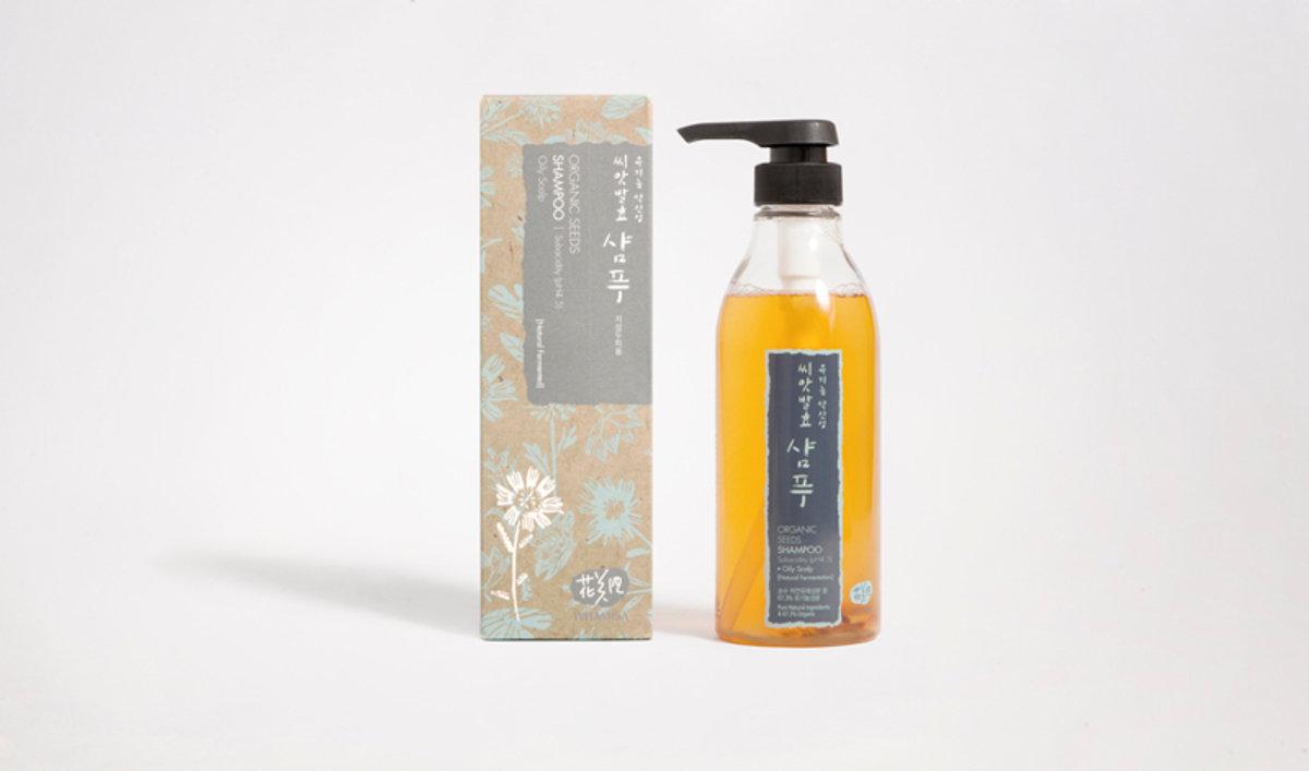 有機發酵種子 洗髮露[油脂性頭皮] /Best Before 13/7/2017