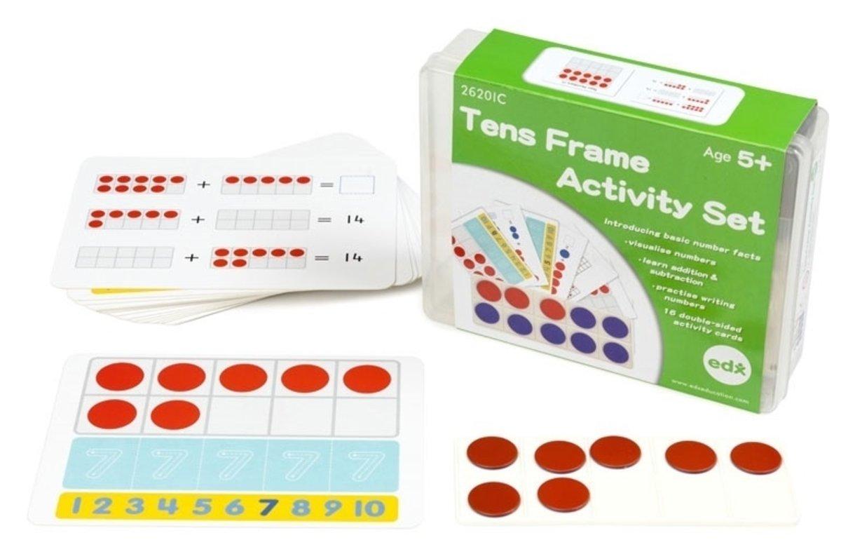 edx education   Ten Frames Activity Set   HKTVmall Online Shopping