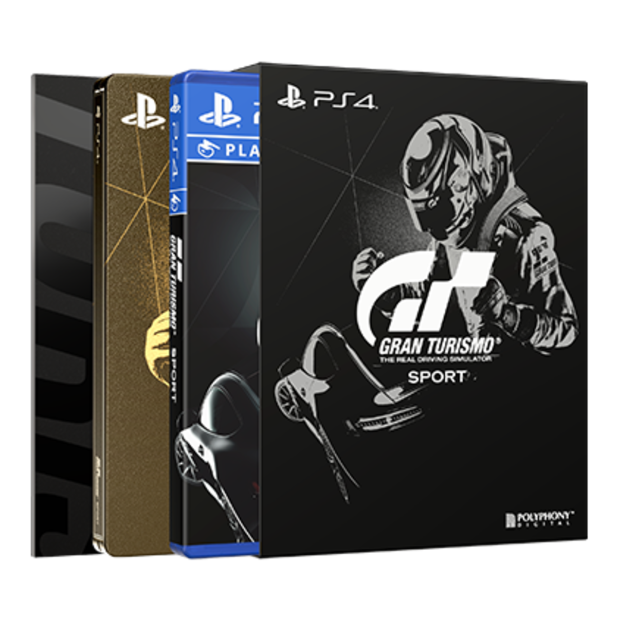 GRAN TURISMO SPORT PS4 AS LIMITED EDITION GT