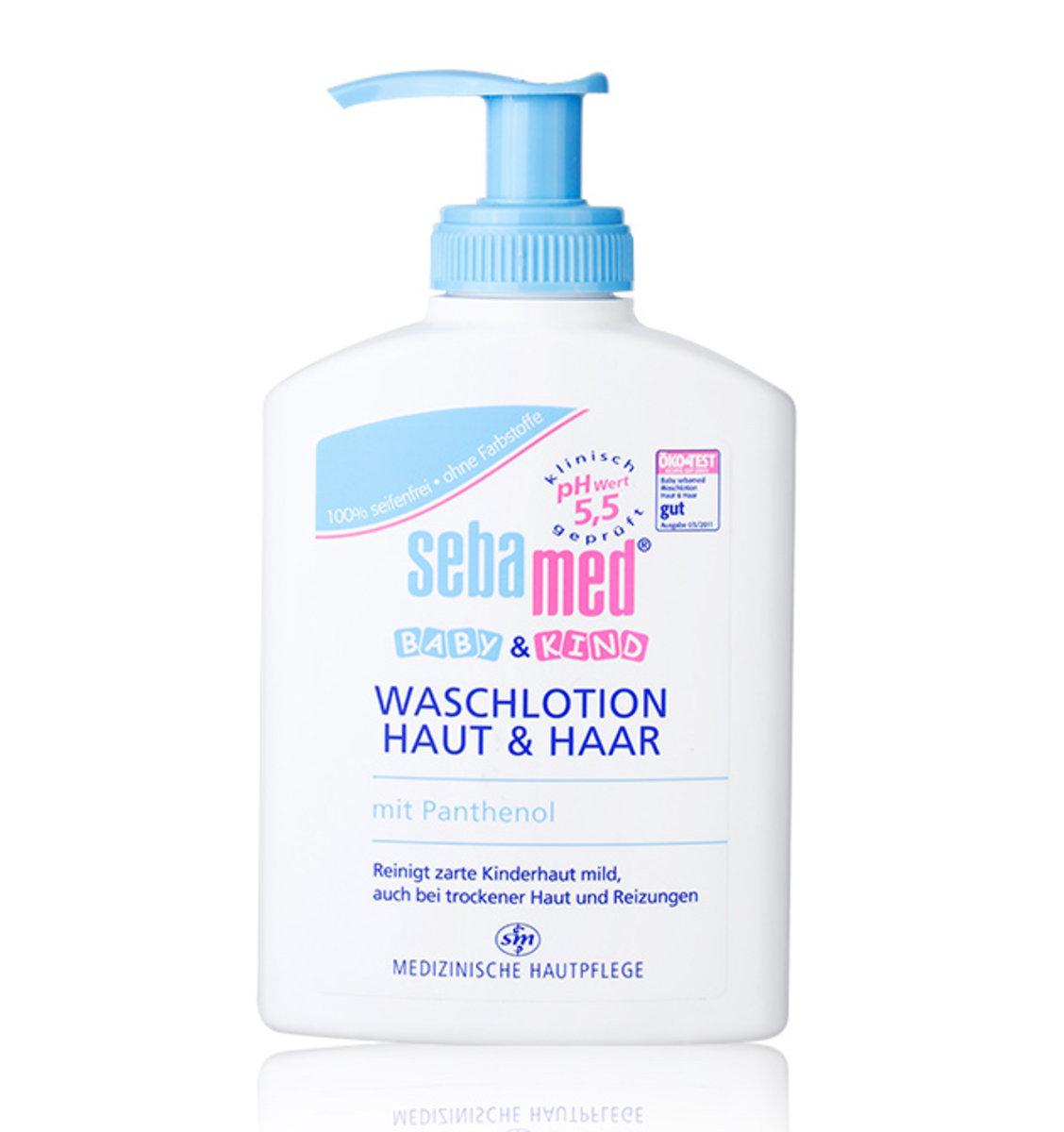 Sebamed Baby Wash Skin Hair 200ml German Version Hktvmall Face Body 200 Ml Online Shopping