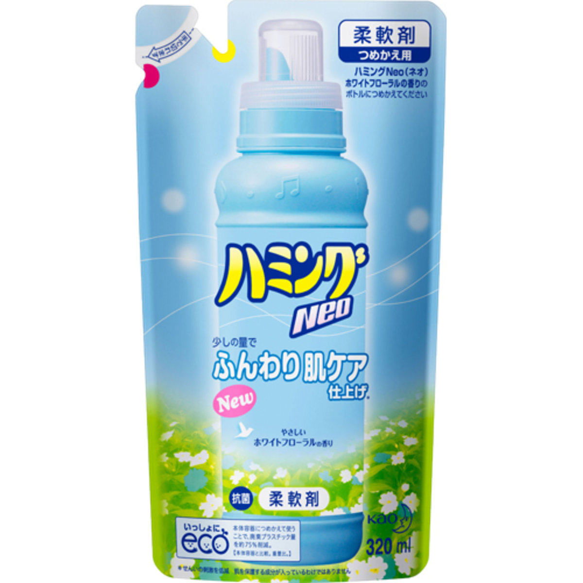 Kao Neo Fabric Softener Refill White Flower 320ml Hktvmall