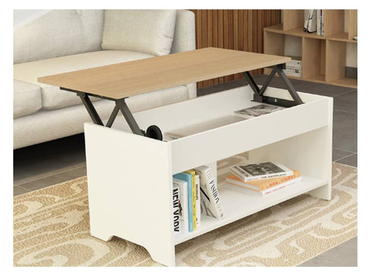 Life Home Liftable Storage Coffee Table HKTVmall Online Shopping - Liftable table