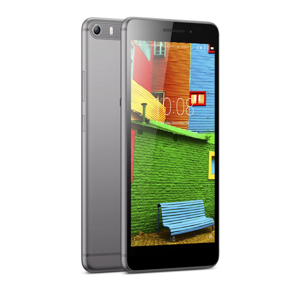 PHAB Plus手機連BEKKI玻璃保護貼套裝 (4G LTE / 32GB /傲灰 )