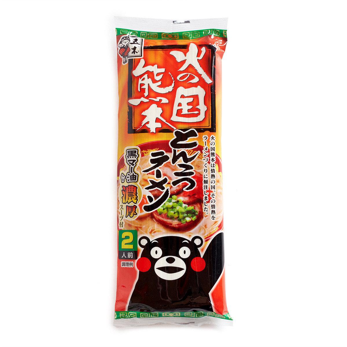 火之國熊本豬骨拉麵