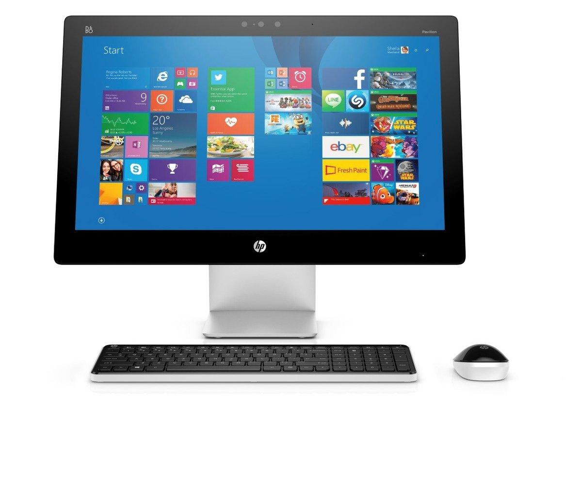 HP Pavilion 23-q035hk 一體式電腦+耳機+無線藍芽揚聲器套裝