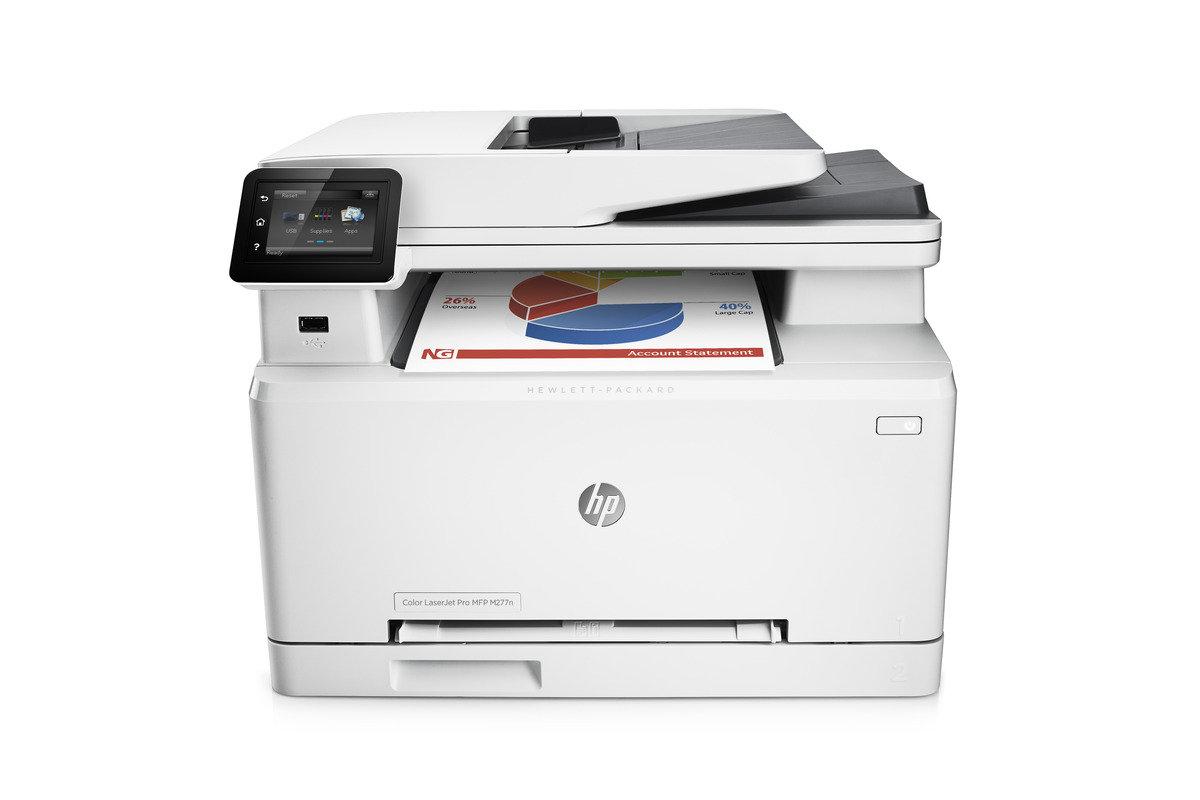 HP Laserjet Pro 200 Color MFP M277n 彩色鐳射雲端多合一打印機