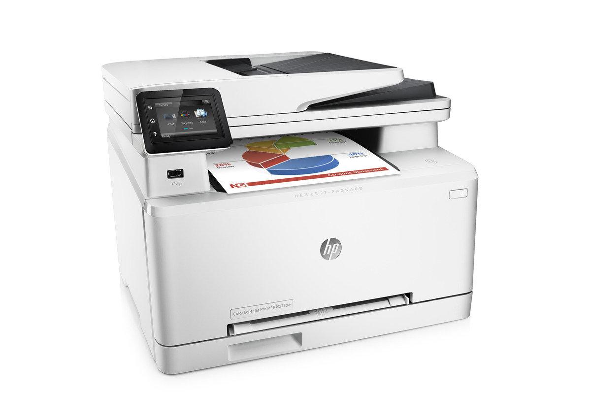 HP Laserjet Pro 200 Color MFP M277dw 彩色鐳射雲端多合一打印機