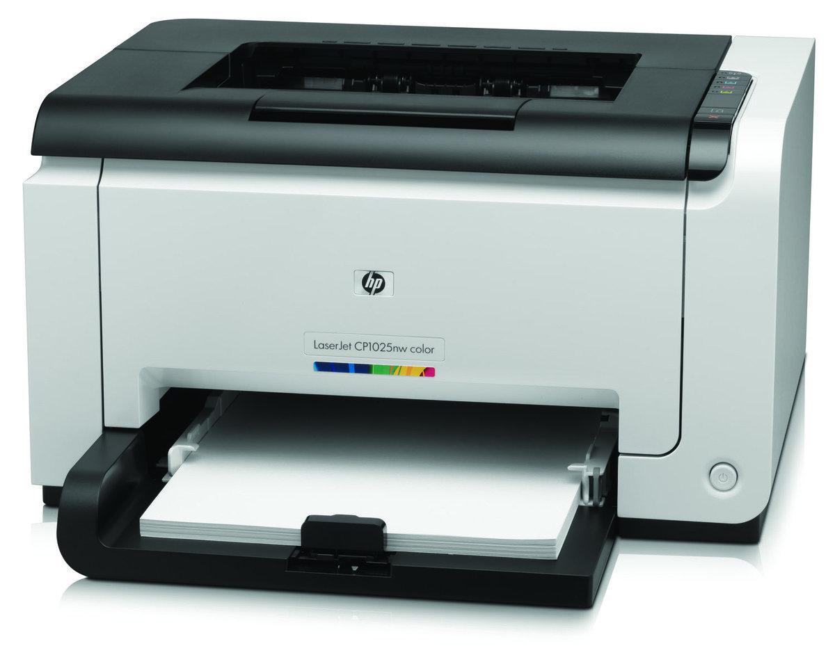 HP Color Laserjet Pro CP1025nw 彩色鐳射打印機