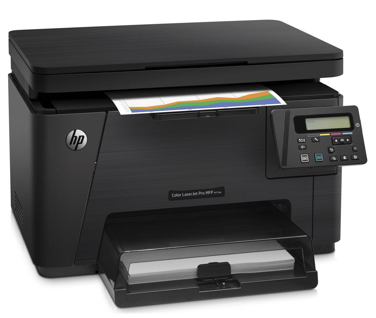 HP Laserjet Pro 100 Color MFP M176n 彩色鐳射雲端多合一打印機