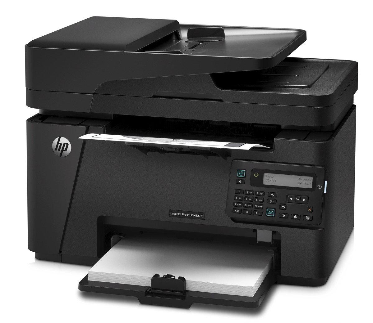 HP Laserjet Pro MFP M127fn 黑白鐳射雲端多合一打印機
