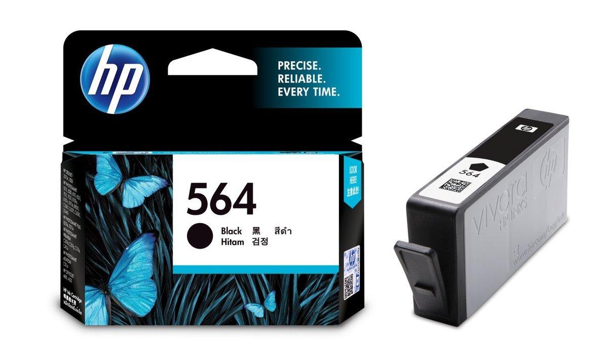 HP 564 黑色油墨盒(標準裝 CB316WA)